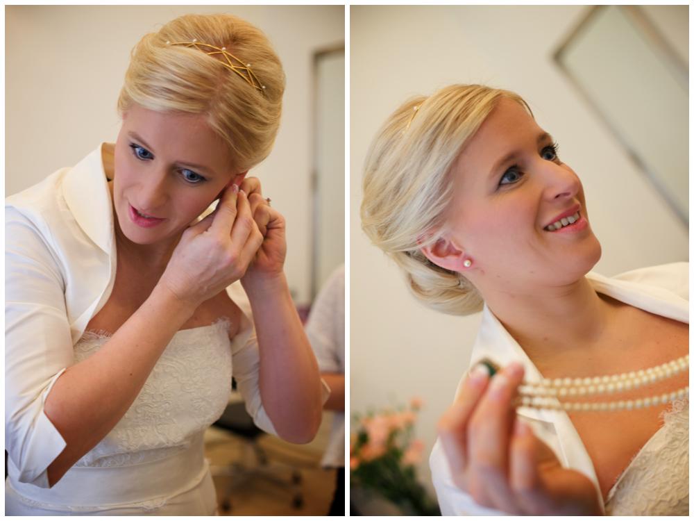 Brudens förberedelser inför bröllopet som jag älskar att föreviga. Fotograf Erika Aminoff