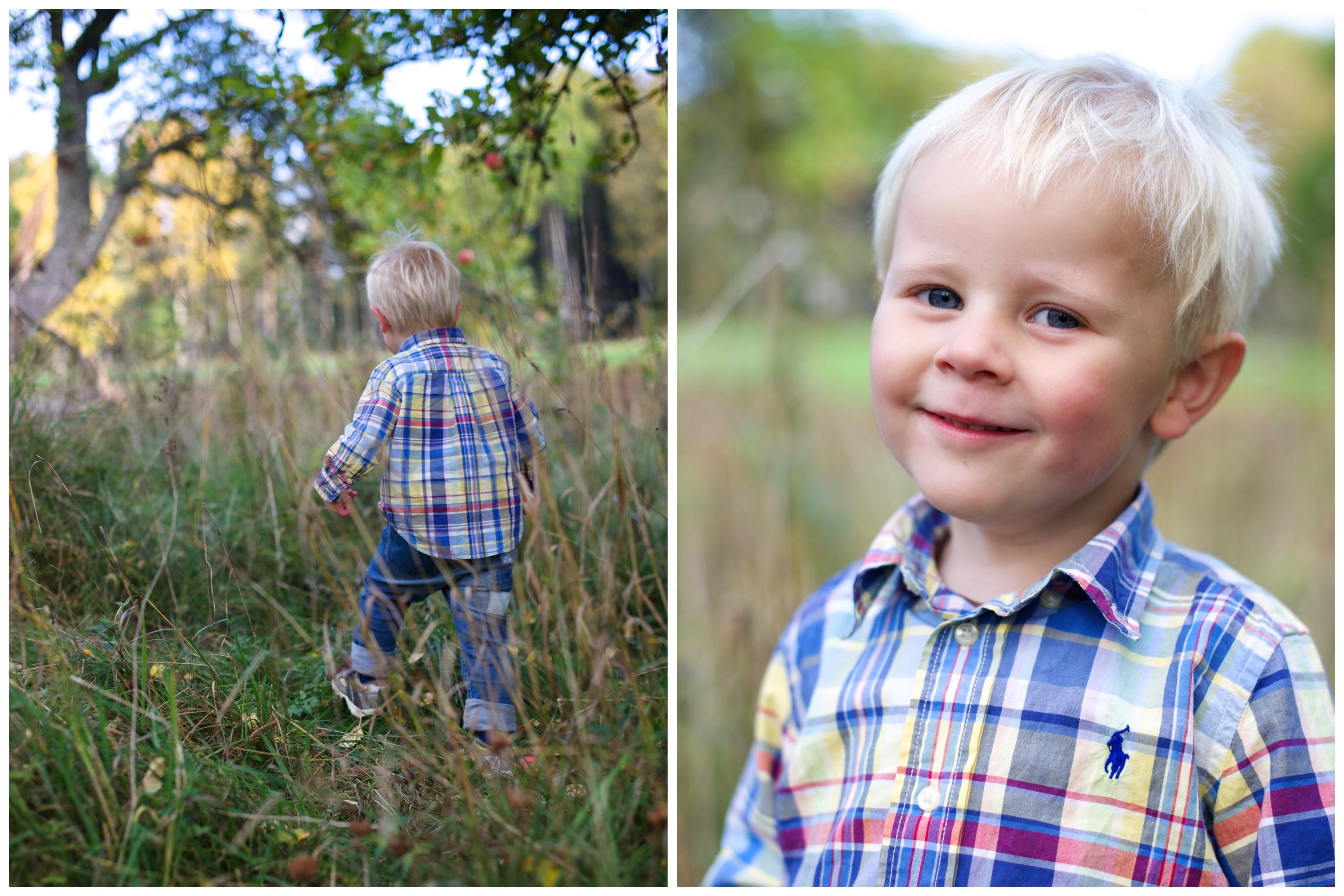 Barnfotografering Familjefotografering på Ekerö