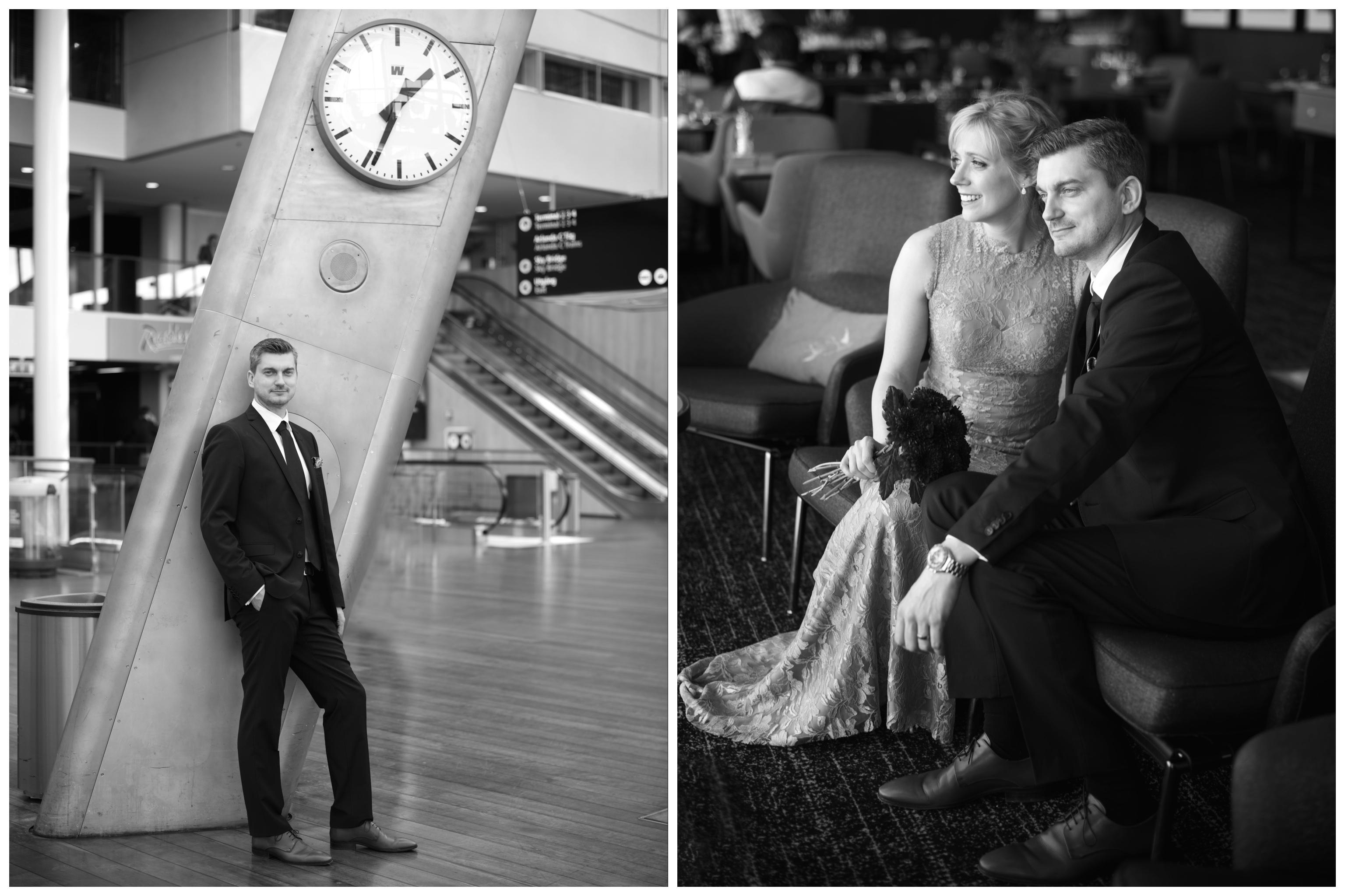 Bröllop på Arlanda med Erika Aminoff Photography