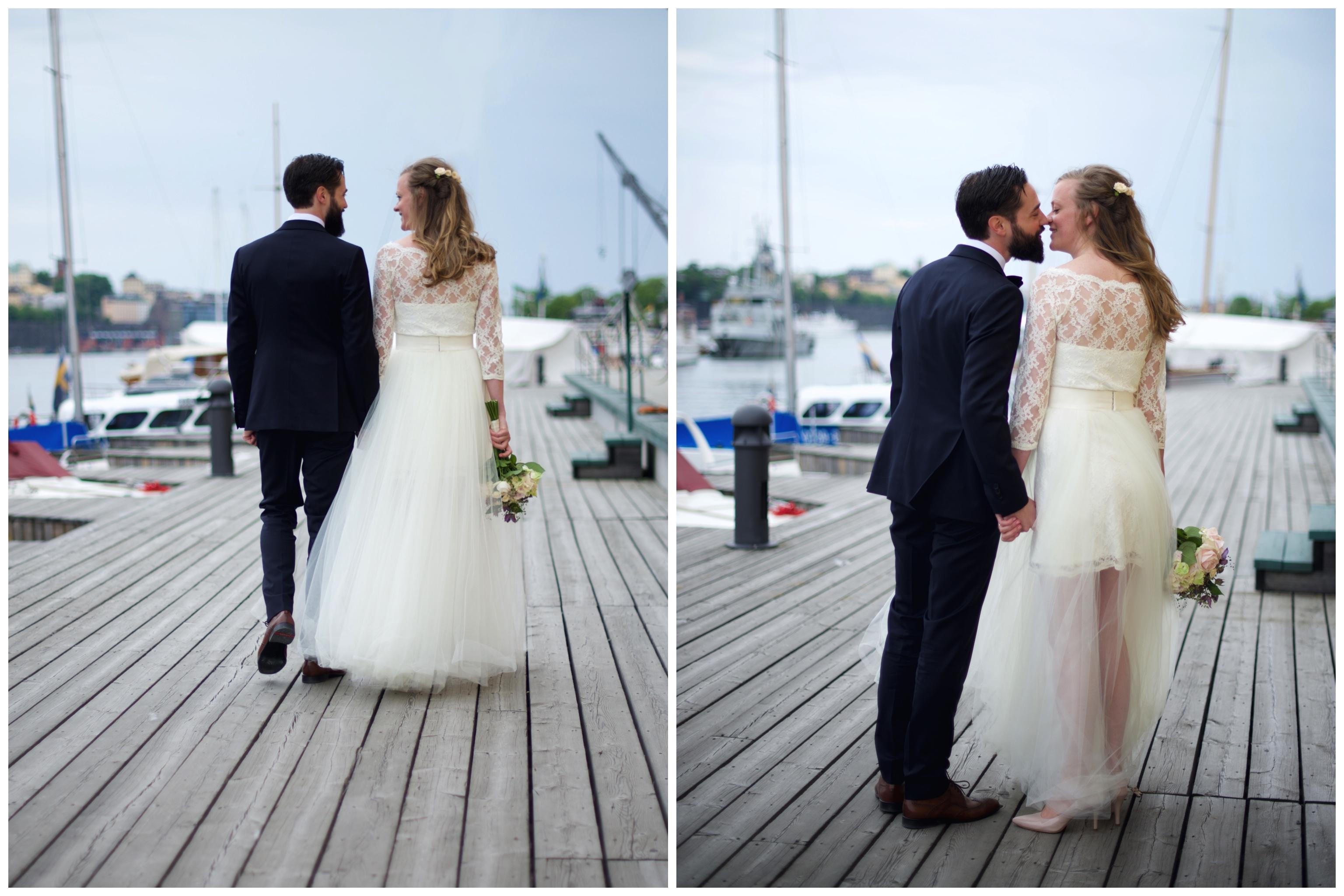 Oaxen bröllop på Djurgården med fotograf Erika Aminoff