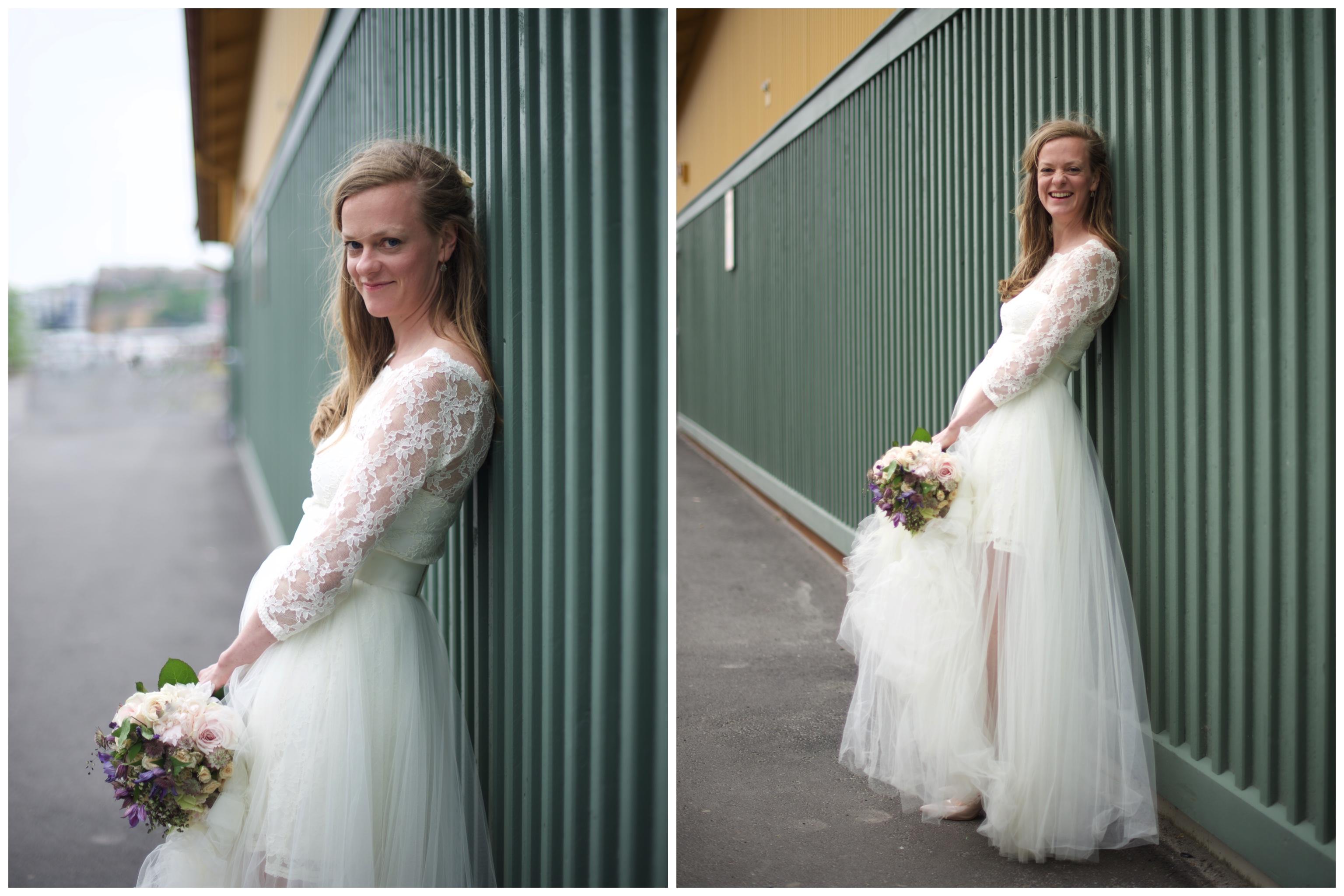 Bröllop på Oaxen Krog och Slip . Fotograf Erika Aminoff