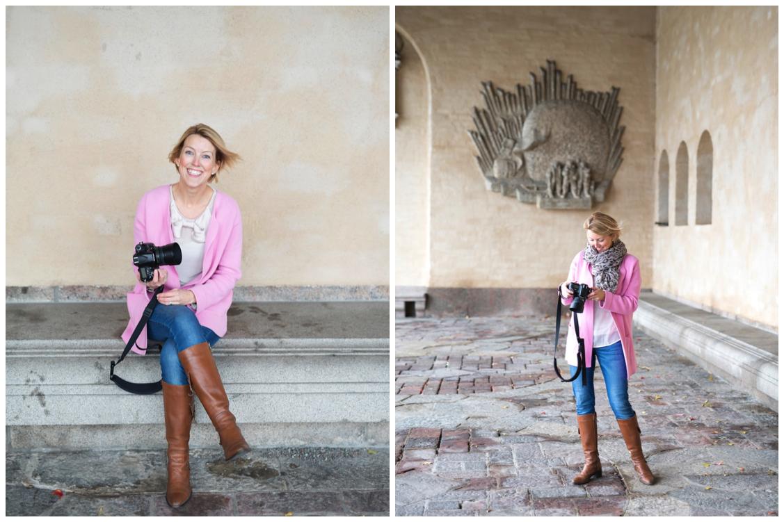 Porträttfotografering - Stockholms stadshus Erika Aminoff