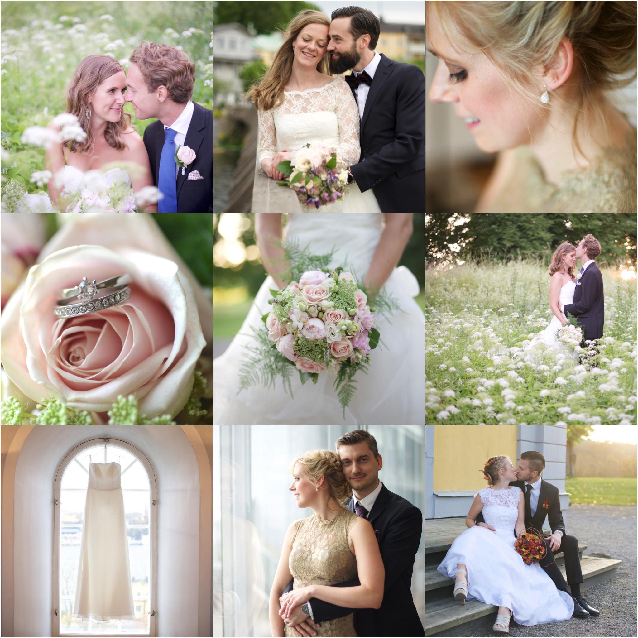 Bröllopsfotograf i Täby