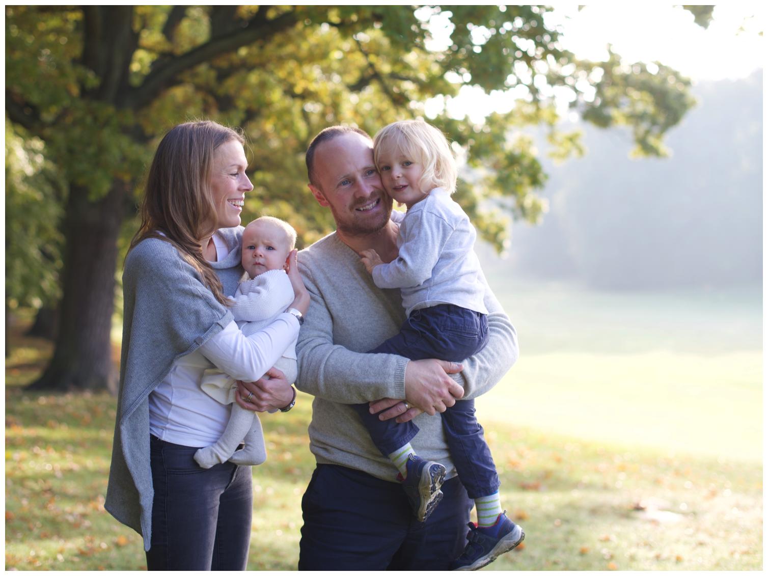Familjefotografering Hagaparken