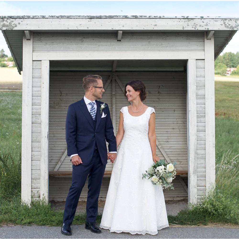 Bröllop på Ekerö Erika Aminoff
