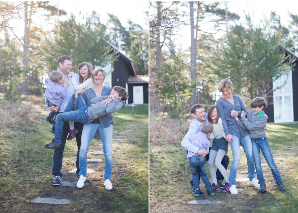 Fotografering på Smådalarö i Stockholms skärgård med Erika Aminoff