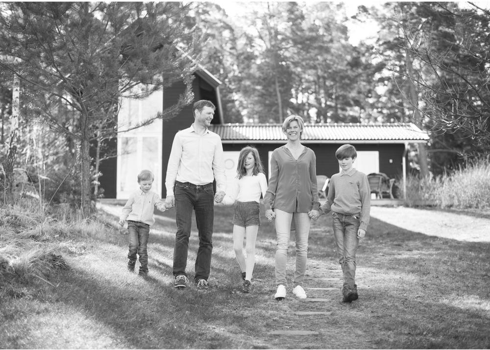 Familjefotograf Stockholms skärgård Erika Aminoff