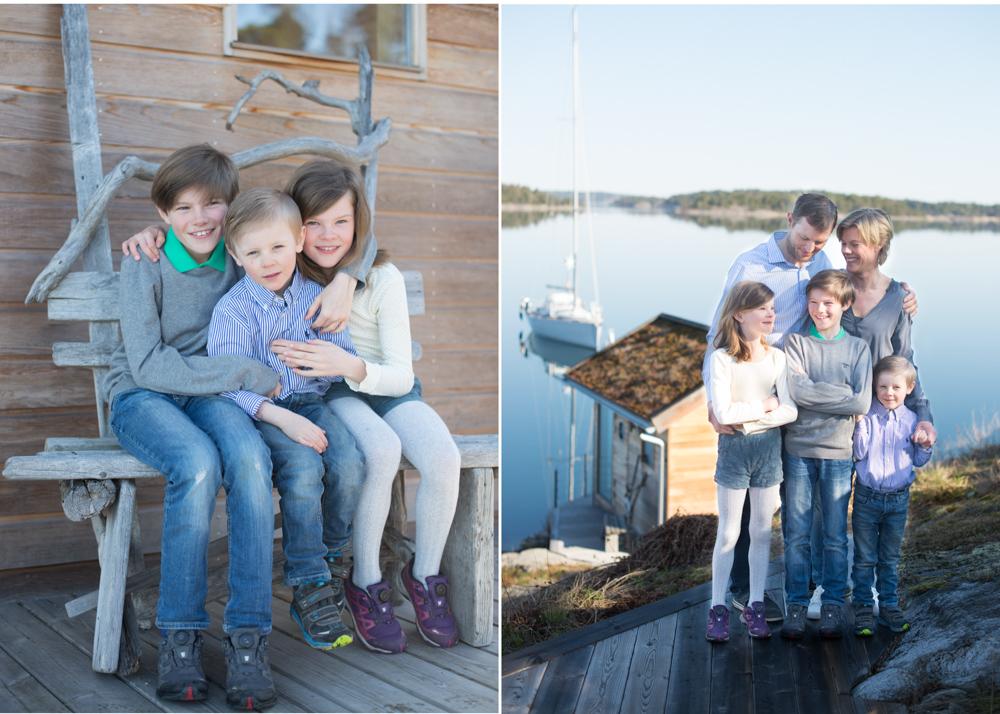 Familjefotograf Stockholms skärgård