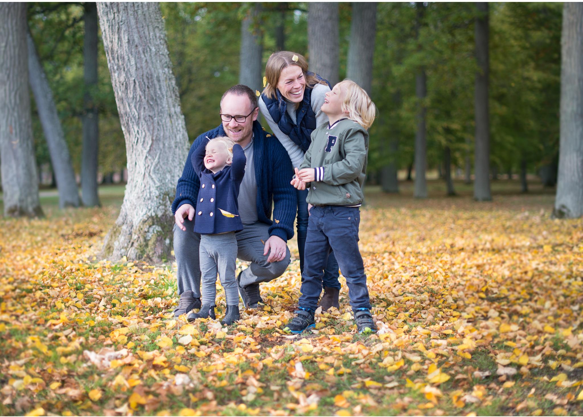 Familjefotografering Drottningholms slott - fotograf Erika Aminoff