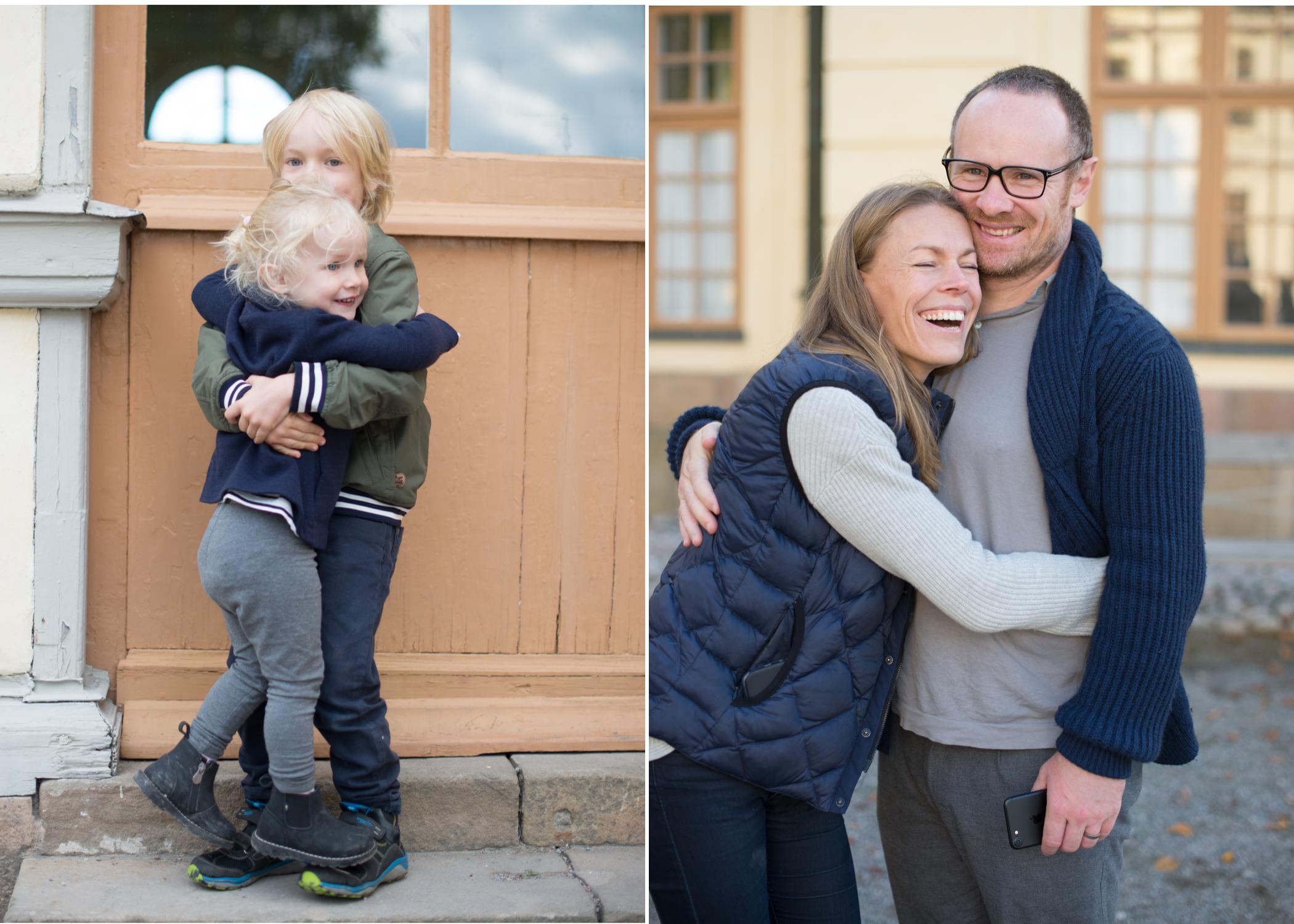 Fotografering på Drottningholm Familjefotograf Erika Aminoff Täby Lidingö Bromma Danderyd