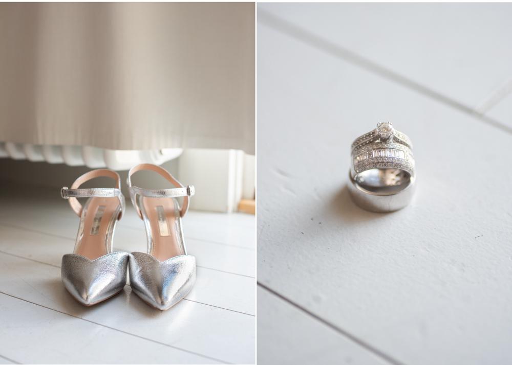 Bröllopsdetaljer Vigselringar Bröllop på Fredriksborg fotograf Erika Aminoff