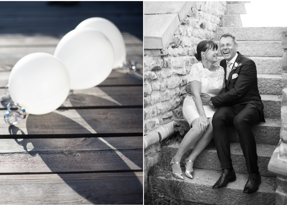 Nygifta på Fredriksborg Bröllop på Fredriksborg fotograf Erika Aminoff