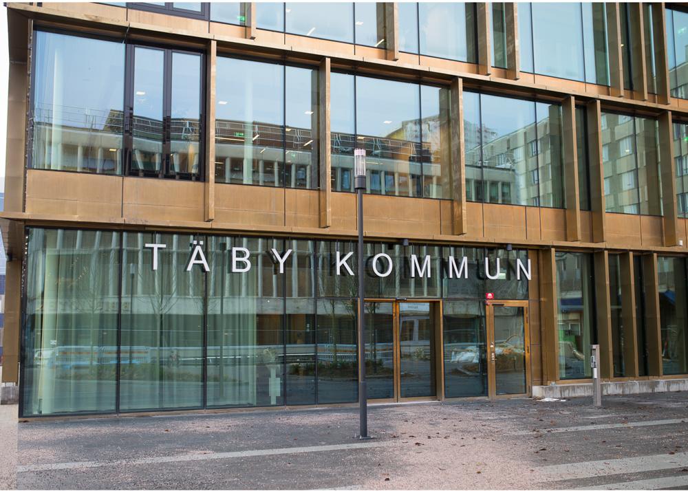 Vigsel i Täby Kommunhus