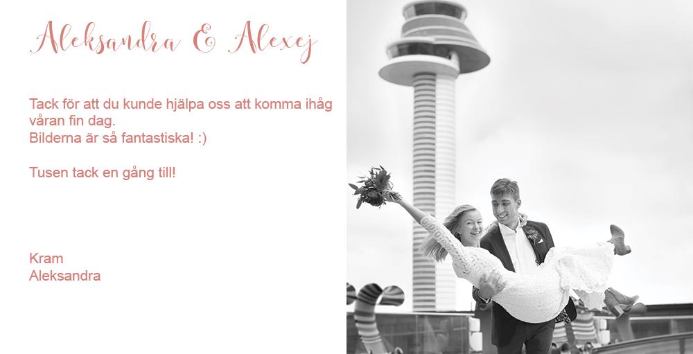 Bröllop på Arlanda Vip Service Brudpar med flygtorn Bröllopsfotograf Arlanda