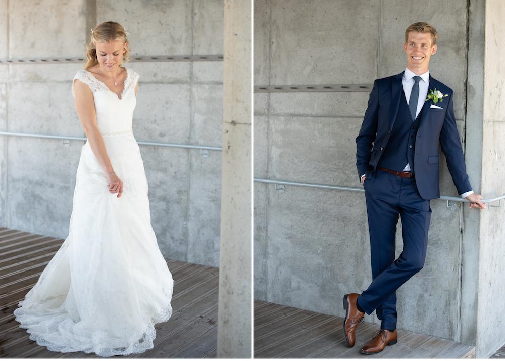 Brud brudgum Högberga gård