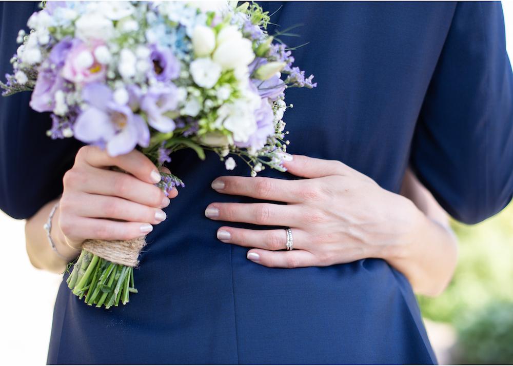 Brudbukett Bröllopsfotograf Erika Aminoff