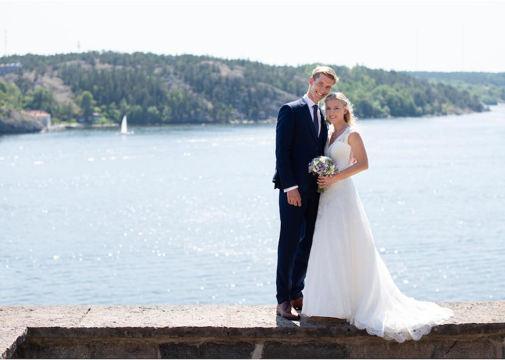 Bröllop på Lidingö fotograf Erika Aminoff