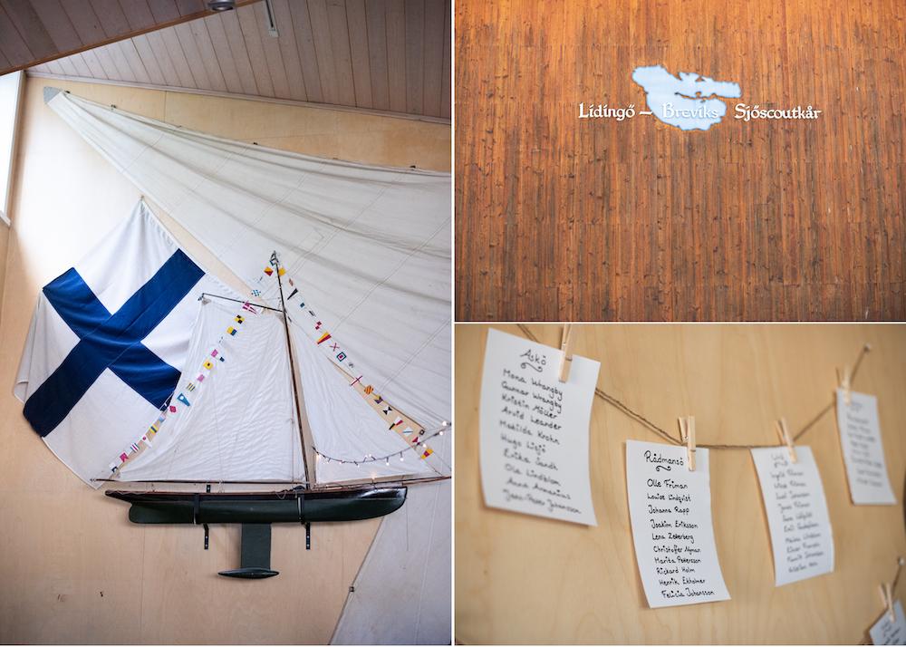 Lidingöbröllop sjöhuset festlokal