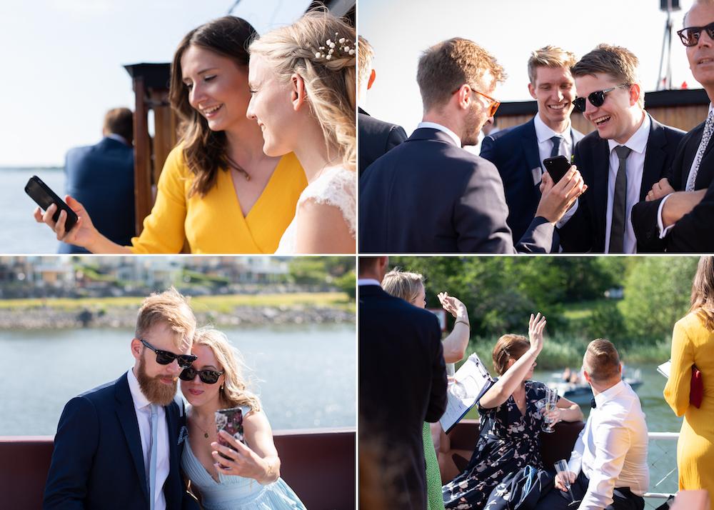 Lidingöbröllop Mingel M/S Oden Gamle