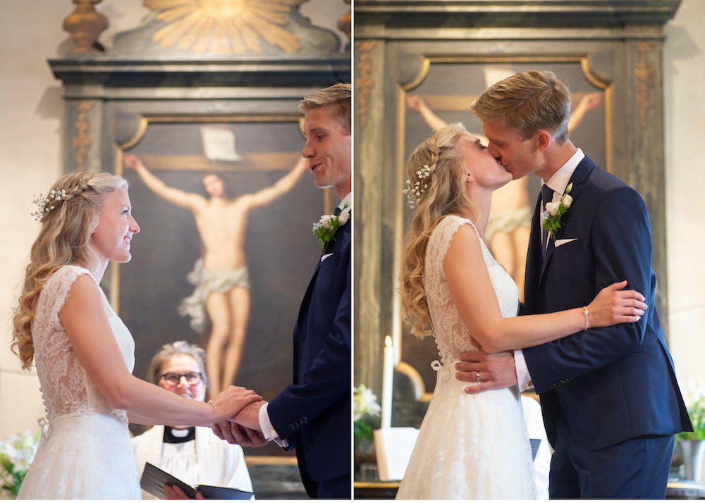 Vigsel Lidingö Kyrka Lidingöbröllop